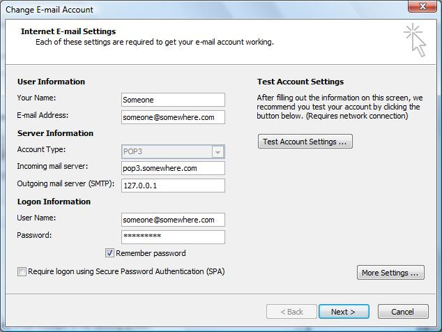 setting up gmail account in outlook